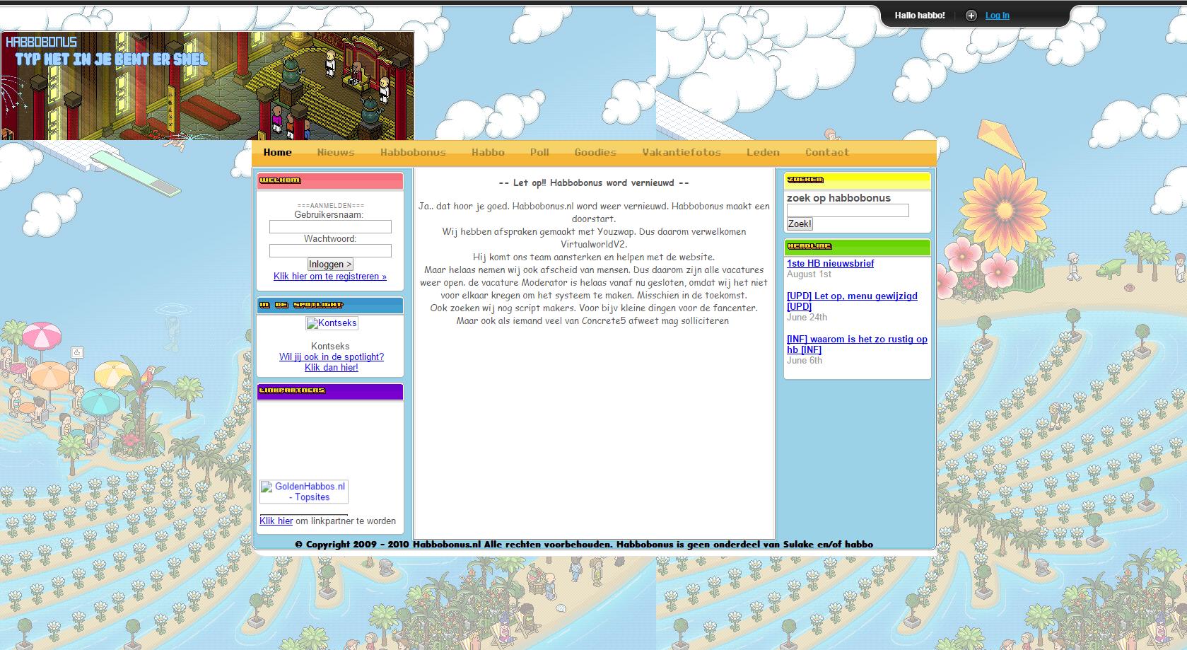 Site ontwerp